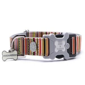 Hugo & Hudson Multi Coloured Stripe Collar