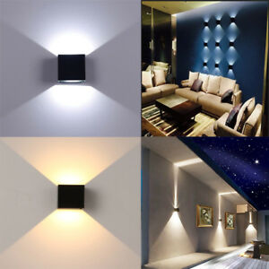 NEW LED Wall Light waterproof Outdoor Up/Down Lamp Exterior lights Yard Modern
