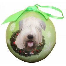 Soft Coated Wheaten Terrier ~ Christmas Ball Ornament #41