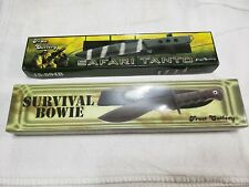 Frost Cutlery Safari Tanto/Survival Bowie Knives w/Sheaths