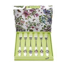 Portmeirion Botanic Garden Pastry Fork Set of 6