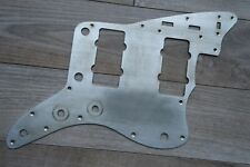 1962 60's  Fender Jazzmaster Pickguard silver aluminum Relic Aged USA Vintage