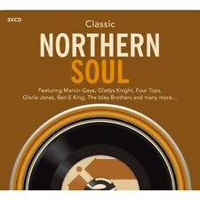 CLASSIC NORTHERN SOUL Various Artists NEW & SEALED 3X CD SET (SPECTRUM/RHINO)