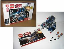 8086 LEGO Star Wars Droid Tri-Fighter 100% complete w Manual Box  EX COND 2010