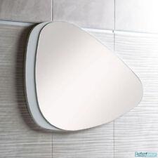White Oval Bathroom Mirrors