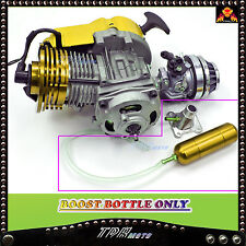 POWER/BOOST BOTTLE 2 STROKE HIGH PERFORMANCE ENGINE POCKET BIKE 49CC GOLD COLO