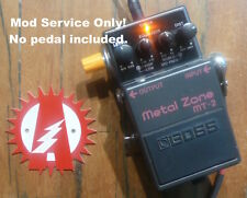 Mod Service Only (No Pedal) Boss MT-2 Metal Zone Distortion Alchemy Audio