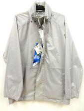 Zip Collared Polyamide Raincoats for Men