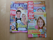 5 x Frau im Spiegel * Bild der Frau * Laura Frauenzeitschriften 2020 2021