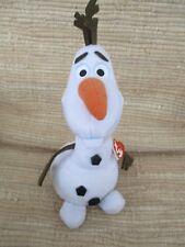 "Ty Buddies Disney Sparkle Olaf Frozen Snowman 12"" Nwt 2014"