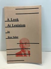 ***RARE VINTAGE A LOOK AT LENINISM BY RON TABER