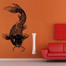 Wall Decal Koi Fish Carp Japan Symbol Happiness Water Dragon China M893