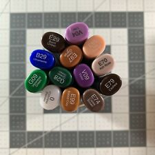 Lot Of 13 Copic Sketch Markers