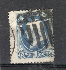 USA, SC # 134 A 44, DISPLACED PERFORATION, USED