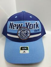 New York City FC MLS Soccer Adidas Small Medium Hat Cap