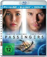 PASSENGERS (Jennifer Lawrence, Chris Pratt) Blu-ray 3D + Blu-ray Disc NEU+OVP