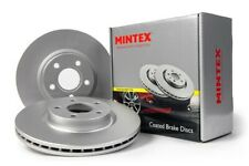 Front brake Disc SINGLE For Audi A4 A6 Allroad SEAT Exeo B5 B6  Mintex MDC1444C