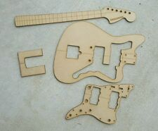 Jazzmaster guitar template set