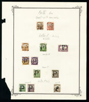Hungary Specialized Early Tax Stamp Collection