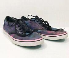 Vans Women's 7.5 Galaxy Cosmic Lo Pro Canvas Upper Sneakers