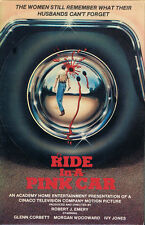 Ride in a Pink Car VHS Tape BIG BOX