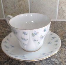 ROYAL ALBERT BLUE HEAVEN CUP AND SAUCER