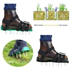 Lawn Aerator Sandals Shoes Grass Spiked Green Gardening Walking  Solid Durable