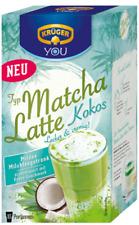 (1000g=13,96€) Krüger Matcha Latte Kokos - Tee Milch Getränk - 250 Gramm