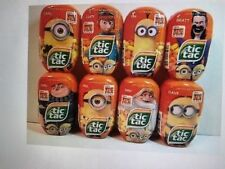 Tic Tac Despicable Me 3 COLLECTOR Lmt. Ed. Banana & Tangerine Flavor SET OF 3