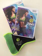 Nintendo Wii Zumba Fitness 2 Game