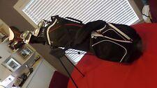 PowerBilt Momentum Complete Golf Set Irons Woods Bag Firm Flex Men Right Handed
