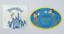 More details for vtg 1980s disneyland electrical parade + tinkerbell stickers walt disney nos
