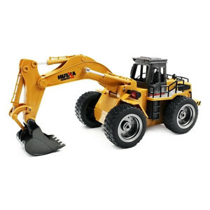 1:18 RC Metal Excavator Remote Control Alloy Rooter Truck RTR Christmas Gifts