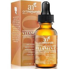 ArtNaturals Anti-Aging Vitamin-C Serum with Hyaluronic Acid & Vit E - Wrinkle