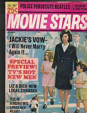 Movie Stars Magazine October 1965 Jackie Kennedy Julie Andrews Beatles Elvis