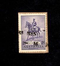 AUSTRALIA Sc# 154 2Sh George V, Used 1935