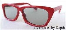 Passive 3D Glasses for Vizio Theater 3D TV HDTV 1080P GagaG107