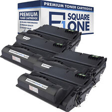 Toner Cartridge Replacement for HP 38A Q1338A | 42A Q5942A (Black, 4-Pack)