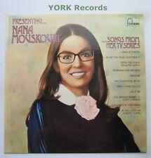 NANA MOUSKOURI - Presenting Nana Mousouri - Ex Con LP Record Fontana 6312 036