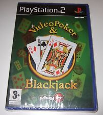 Ps2 / Sony PlayStation 2 Game - Video Poker & Blackjack Boxed