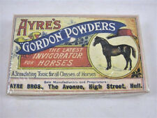 GORDON POWDER HORSE TONIC CIRCA 1900 VET AYRE BROS ENGLAND