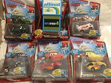Disney Pixar Cars CHARGE UPS N RACE CHASE FULL SET 1:55 TOKYO DRIFT MATER