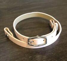 "Authentic Origami Owl Pastel Pink 7 1/2 - 8 1/2"" Leather Wrap Bracelet - NEW"