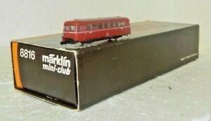 Marklin Mini-Club Z Gauge Deutsche Bahn Rail Bus
