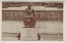 Midlothian postcard - Scottish-American War Memorial, Edinburgh