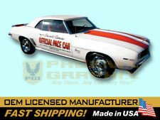 1969 Chevrolet Camaro Indy 500 Pace Car Decals & Stripes Kit