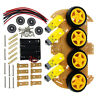 20pcs 4WD Robot Smart Car Chassis Kit W/ Tachometer Speed Encoder For Arduino CA