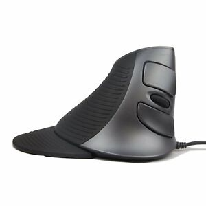 J-Tech Digital Wired Vertical Mouse Ergonomic USB with Adjustable Sensitivity