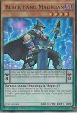 3X YU-GI-OH CARD: BLACK FANG MAGICIAN - ULTRA RARE - PEVO-EN004 - 1ST EDITION