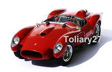 1:18 CMC Ferrari 250 Testa Rossa Pontoon Fender 1958, NOUVEAU & NEUF dans sa boîte, m-071, RARE
